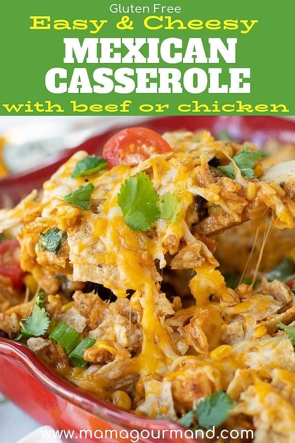 mexican chicken casserole pinterest