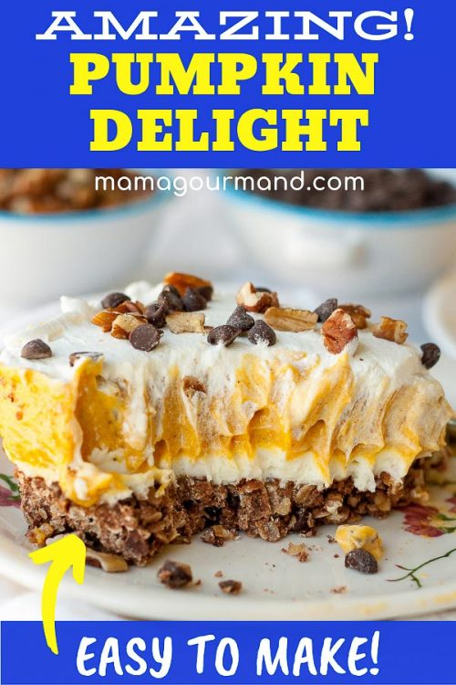 pumpkin delight Pinterest pin