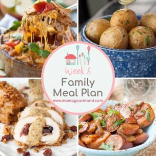Mama's Minutes and Meal Plan: 10/5/16