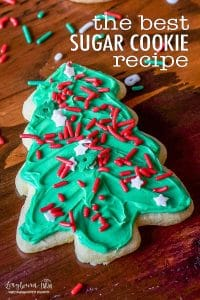 soft sugar cookie cut out pinterest pin