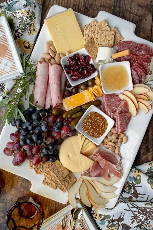 Christmas Cheese Board Ideas.Charcuterie Board