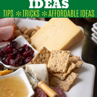 how to build a charcuterie board pin