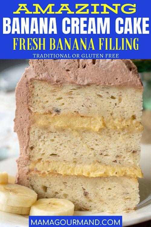 banana cream cake pin