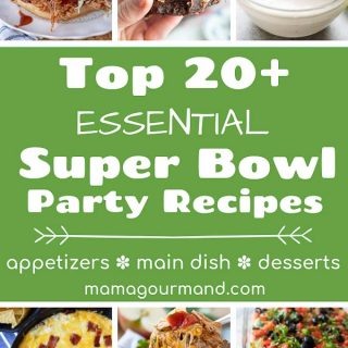 best super bowl party food pinterest