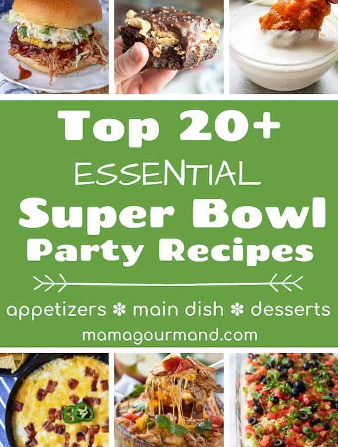 best super bowl party food pinterest