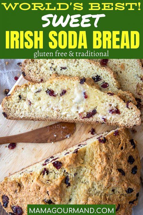 sweet irish soda bread pin