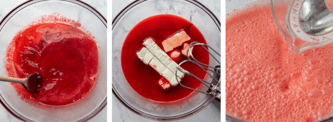 images showing how to make jello salad