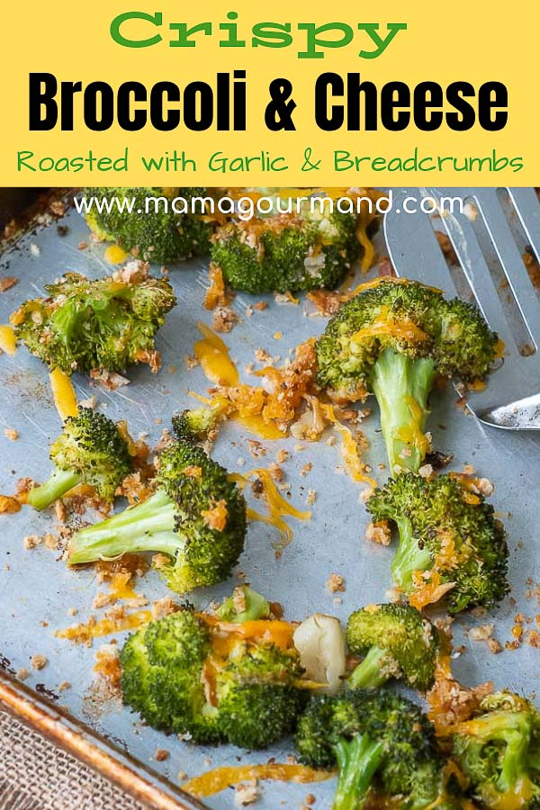 baked broccoli and cheese pinterest post