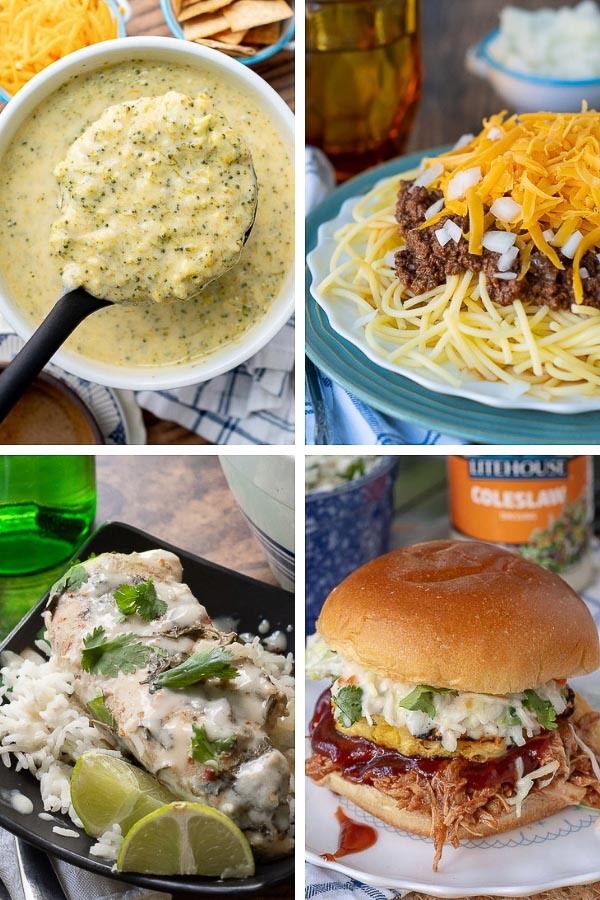 collage of pictures showing best instant recipes
