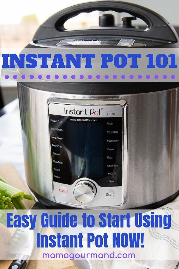 how to use instant pot for beginners