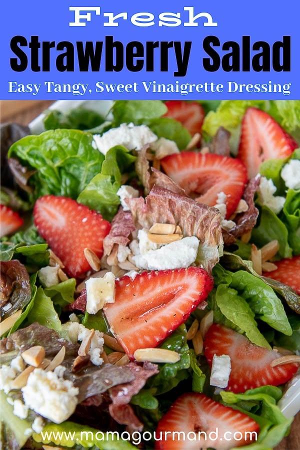 strawberry salad pinterest