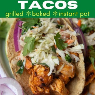 buffalo chicken tacos pin