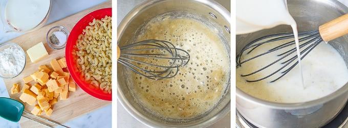 images showing how to make velveeta mac and cheese recipe
