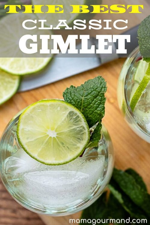 how to make a gimlet pinterest pin