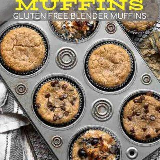 almond flour muffins pin
