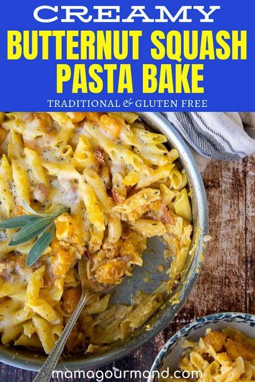 butternut squash pasta pinterest