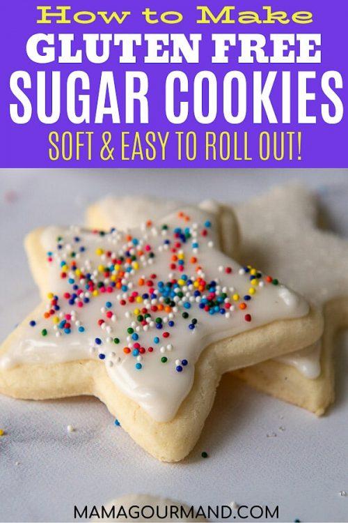 gluten free sugar cookies pin