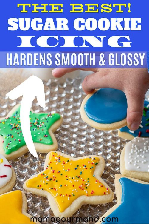 how to make sugar cookie icing pin