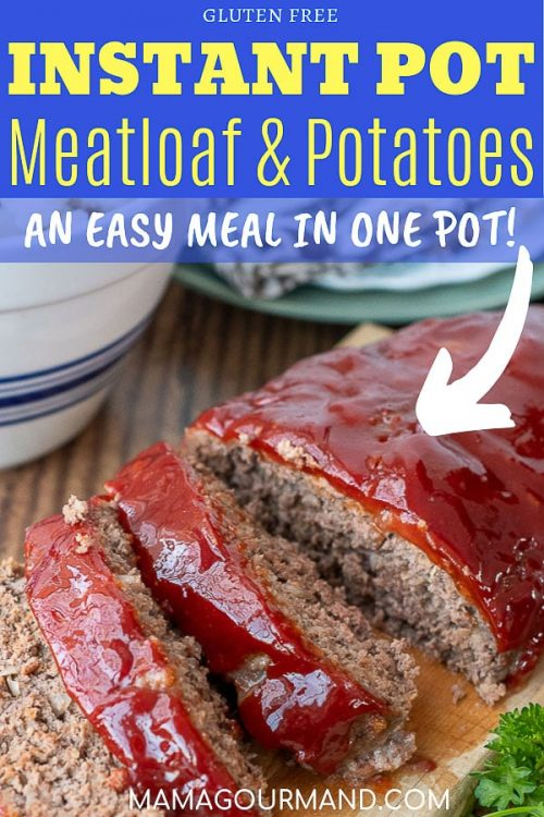 instant pot meatloaf pinterest pin