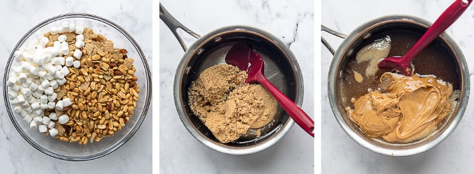 images showing how to make scotcheroos