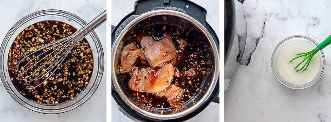 how to make chicken thighs in the instant pot