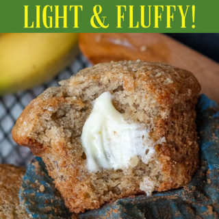 gluten free banana muffin pinterest pin