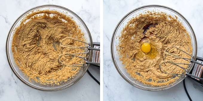 images showing how to make almond flour peanut butter cookies