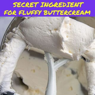 fluffy buttercream frosting pin