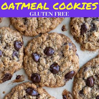 almond flour oatmeal cookies pinterest pin