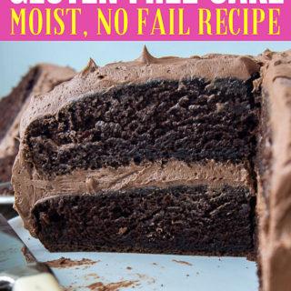 gluten free chocolate cake pin