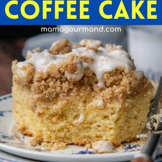 gluten-free coffee cake pinterest pin