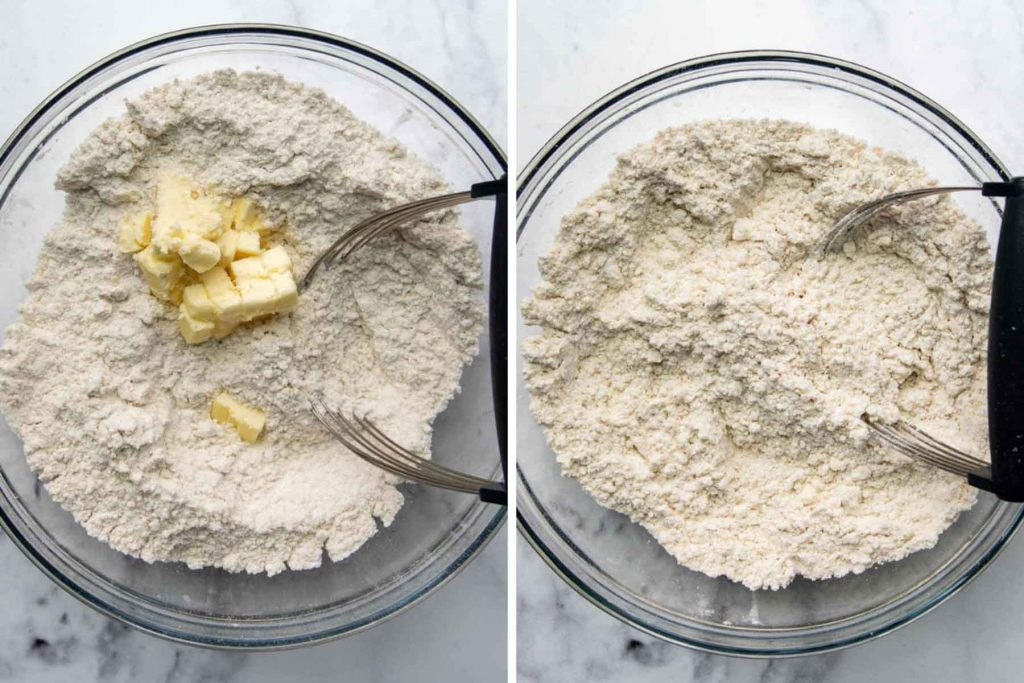 images showing how to make gluten free shortcake