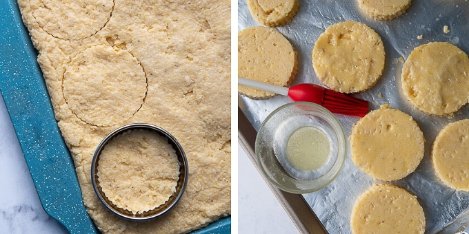 images showing how to make grit cakes