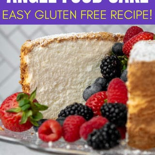 Gluten Free Angel Food Cake pin