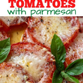 Baked Tomatoes pinterest pin