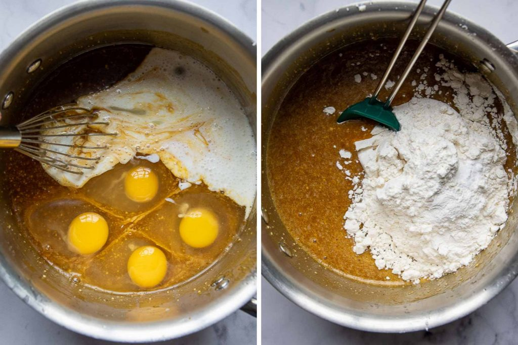 images showing how to make pumpkin bread