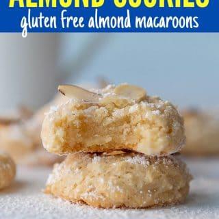 almond paste cookies pinterest pin