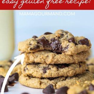 oat flour cookies pinterest pin