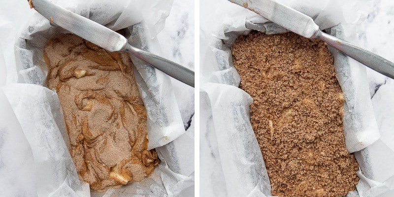 images showing how to make gluten free cinnamon bread