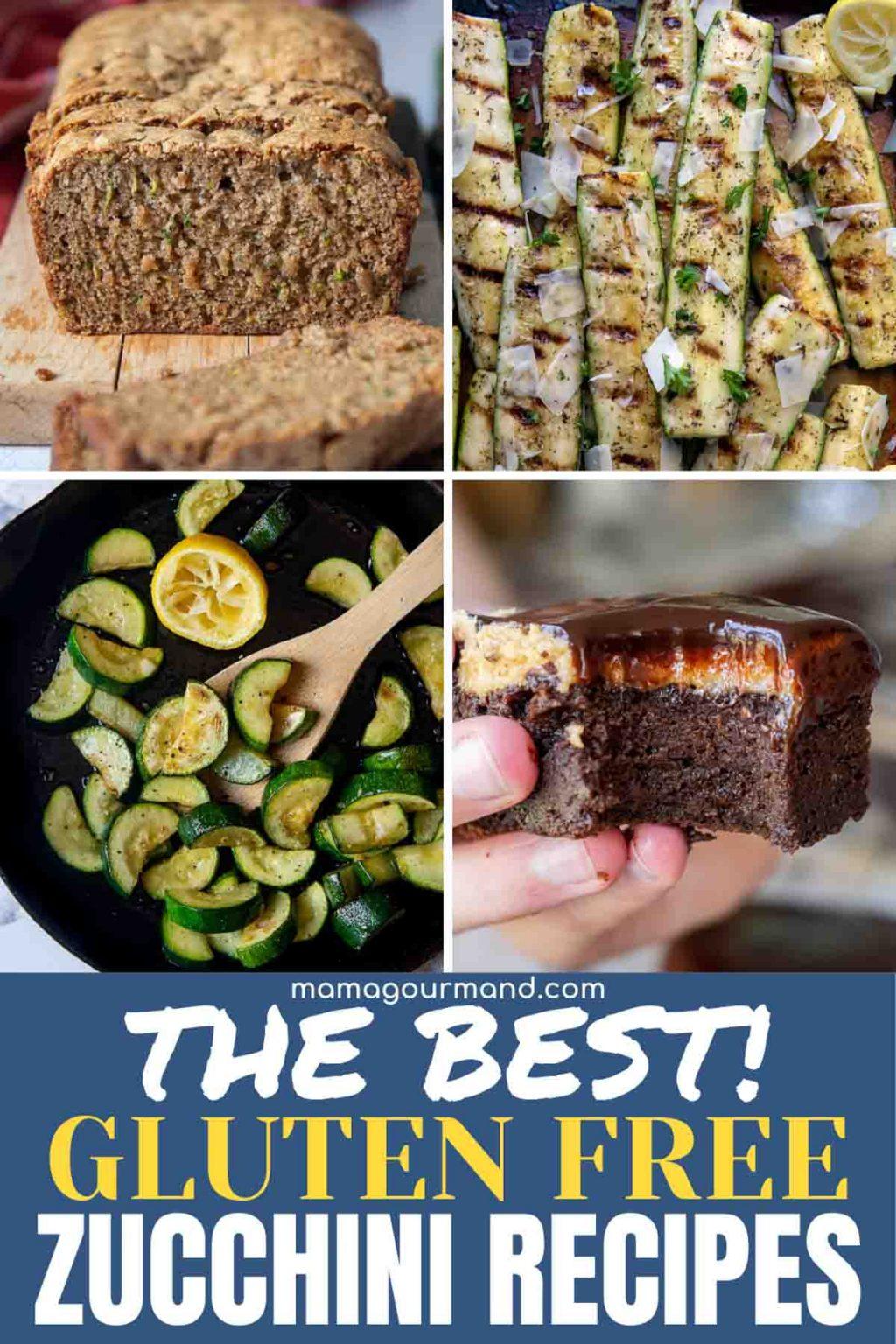best gluten free zucchini recipes pinterest pin