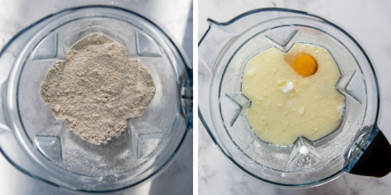 images showing how to make oat flour bread