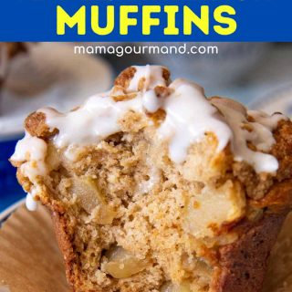 gluten-free apple muffin pinterest pin