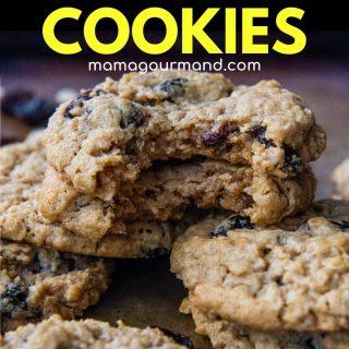 gluten free oatmeal cookies pinterest pin