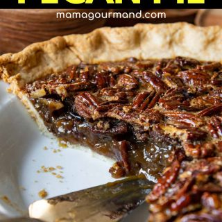 gluten-free pecan pie recipe pinterest pin