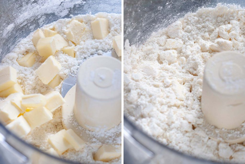 image showing how to make gluten free pie crust
