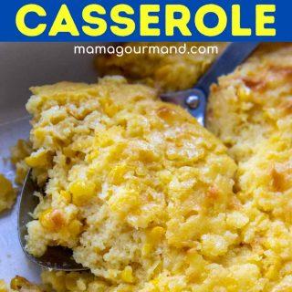 corn casserole pinterest pin
