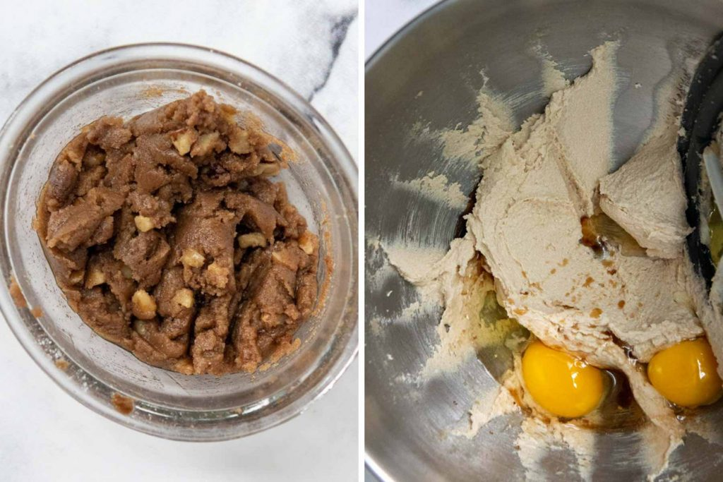 images showing how to make gluten free apple bread